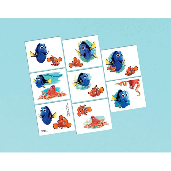 Finding Dory Tattoos 16ct