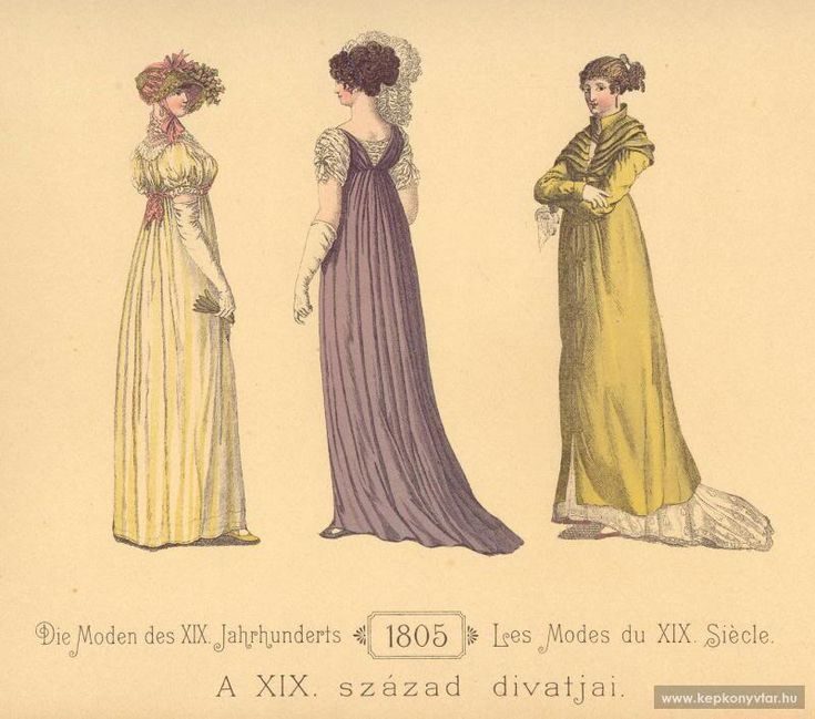 79 best Regency Fashion - 1805 images on Pinterest | Regency era ...