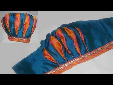 new bridel sleeves designe cutting and stitching - YouTube