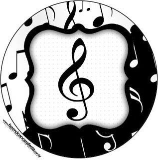 Küçük büyük tüm müzik severlere özel, harika bir tema ile bugün sizlerleyim. Siyah beyazın asaleti bir de müzik notaları ile birleşince çok...