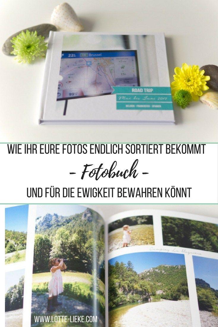Fotos ordnen Fotobuch
