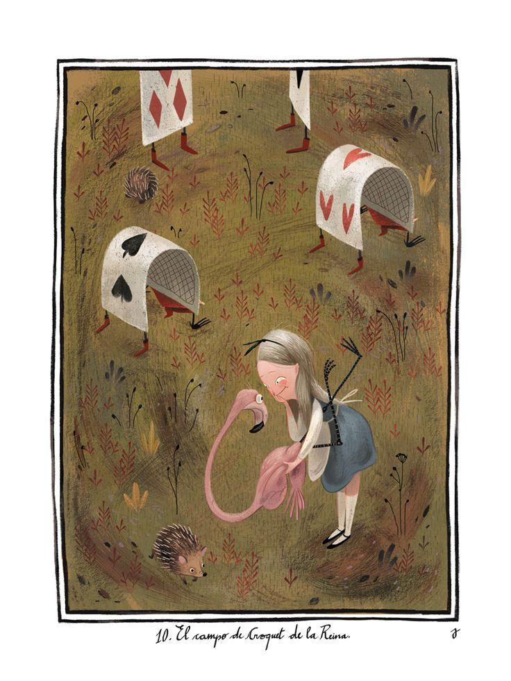 Alice in Wonderland | Illustrator: Júlia Sardà