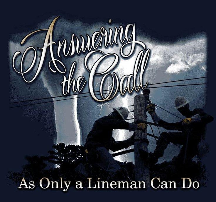 lineman love   Via Dawn Fradenburg