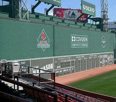 The Green Monster, Fenway Park, #Boston MA