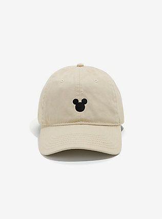 Disney Mickey Mouse Tan Dad Hat,