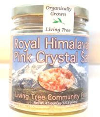 Royal Himalayan Pink Salt -- Salt is essential for life, we cannot live without it, there is a huge difference between the standard, refined table salt and a natural health-promoting salt.