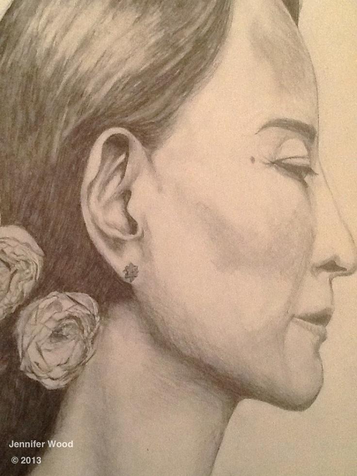 Aung San Suu Kyi - Jennifer Wood