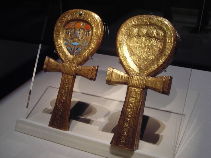 The ankh, also known as key of life, the key of the Nile
