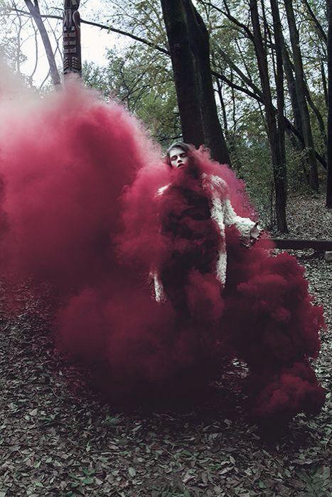 Très belle photo. Fumée #marsala
