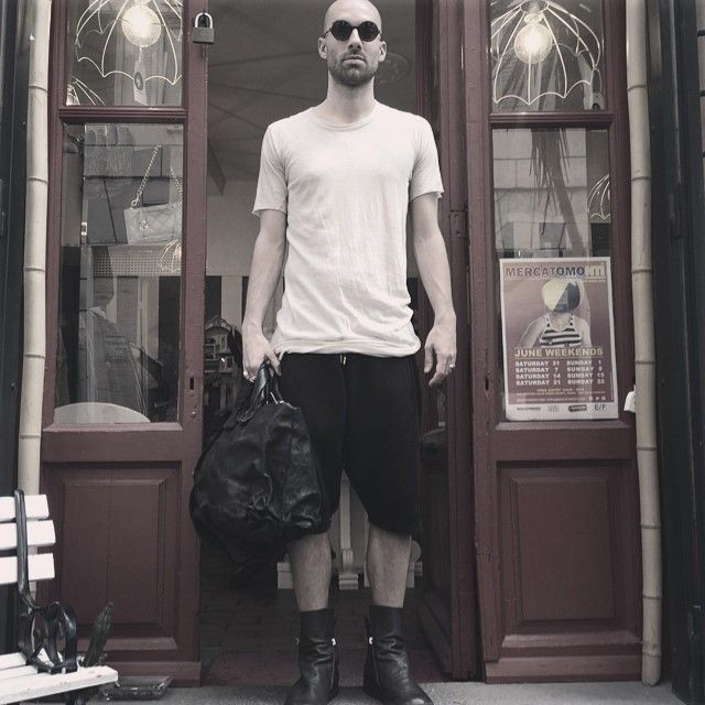 #tshirt#rickowens, #boots#cinziaaraia, #bag#simonatagliaferri, #sunglasses#margutta