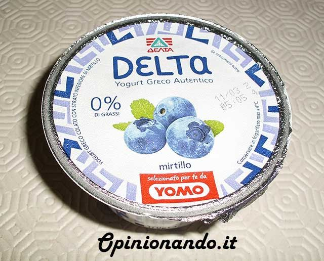Delta Yogurt Greco Mirtillo - #Opinionando #Recensione
