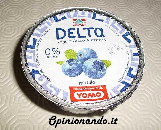 Delta Yogurt Greco Mirtillo - #Opinionando #Recensione