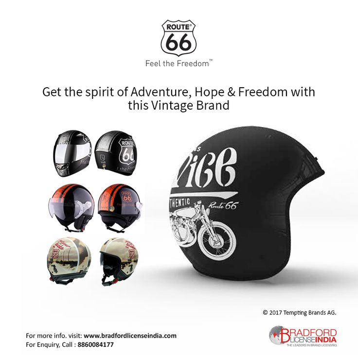 #Routee 66 - Get the spirit of Adventure, Hope & Freedom with the Vintage Brand. For more information about licensing opportunities visit https://goo.gl/VlU75L call us @8860084177. Register Today! for best opportunity https://goo.gl/eFcruZ