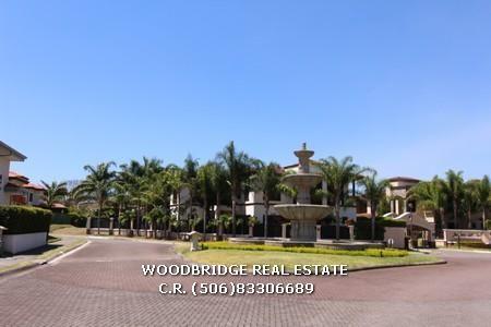 Costa Rica real estate Santa Ana luxury home for rent in Hacienda Del Sol $5.000  5 bedrs 5 baths contact Woodbridge real estate CR mobile (506)83306689
