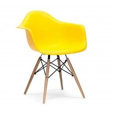 Charles & Ray Eames Inspired DAW Chair - Yellow