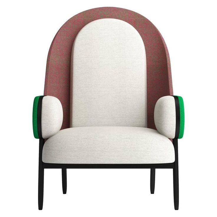 'MOON-B', a Contemporary Armchair with a Vintage Twist in Limited Edition 1
