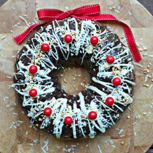 Rocky Road Christmas Wreath Recipe Is Full Of Holiday Cheer!