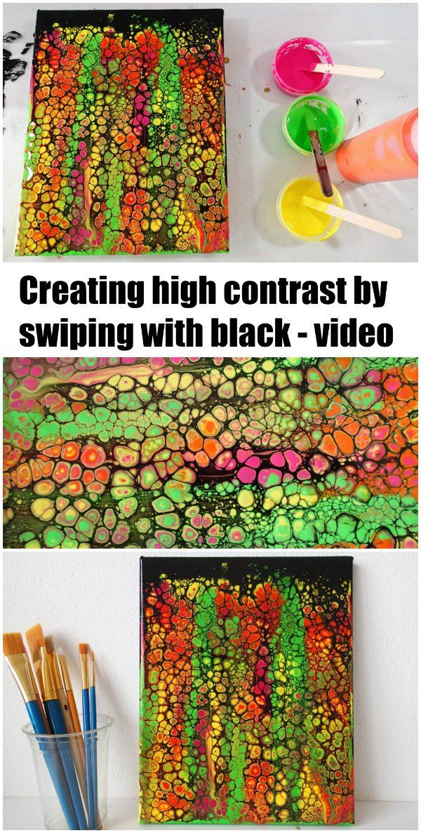 how to create certain colors acrylic paint
