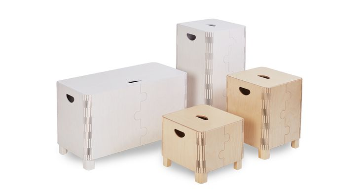 Practical storage solutions. Ideal to store items. Beauifully decorated with rounded corners and elegant jigsaw puzzle motif on two sides.
