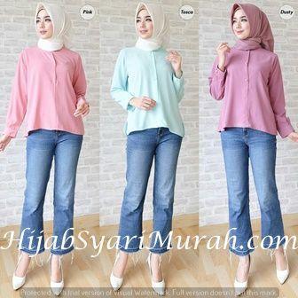Baju Warna Peach Cocok Dengan Jilbab Warna Apa