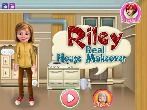 Inside Out - Riley Real House Makeover - Game Tutorial 2016