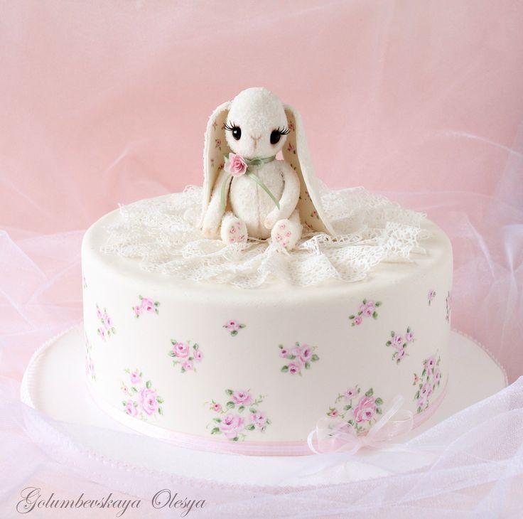 Детские торты - Мастер-классы по сахарным цветам