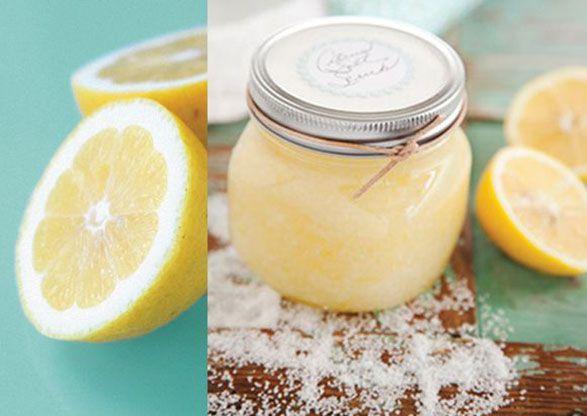 Lemon scrub.