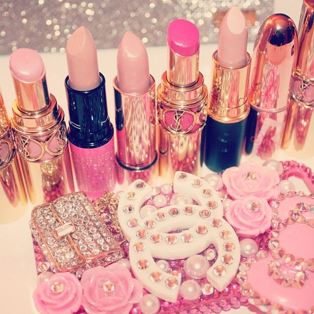 Розовые картинки гламура