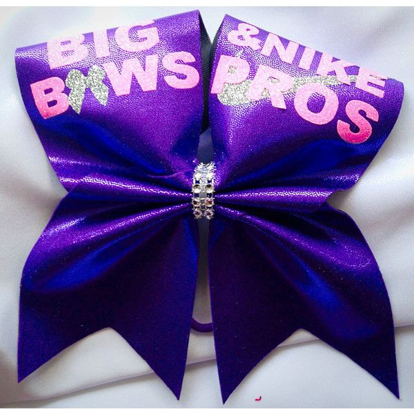 Big Bows Nike Pros Texas Cheer Bow (16 CAD) ❤ liked on Polyvore featuring accessories, hair accessories, grey, ties & elastics and bow hair accessories