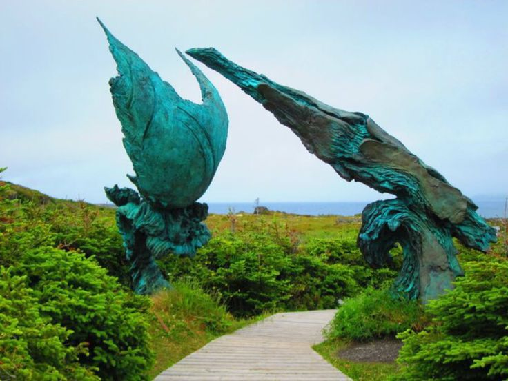 L'Anse aux Meadows National Historic Site, Newfoundland and Labrador, Canada - Viking Settlement in Newfoundland