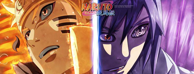 Naruto 696 - Naruto Vs Sasuke + Video by HikariNoGiri.deviantart.com on @DeviantArt