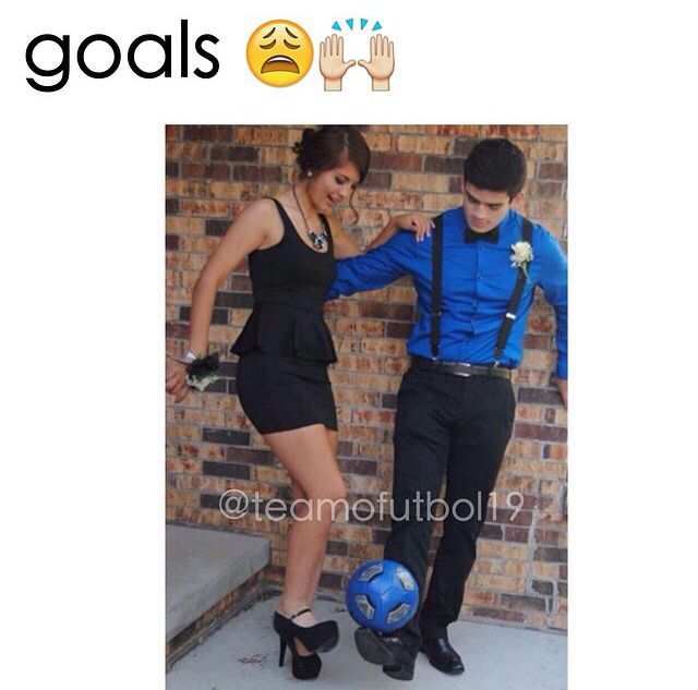 Relationship goals! Please a soccer boy!!