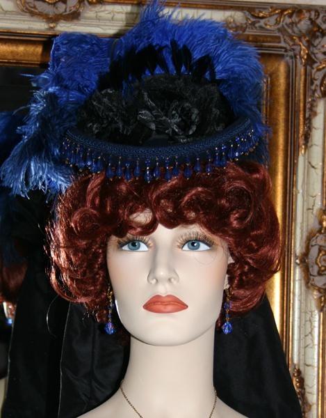 """""""Spirit of Denver"""" Cobalt Blue and Black SASS Hat"""