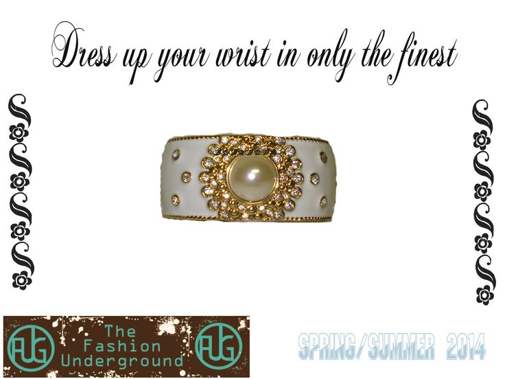 I call this the #wedding cuff