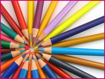 Colored Pencils.  #colorevolution