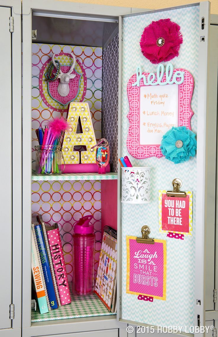 Find This Pin And More On Teen Activities By Mamainthenow. Mustache Locker  Idea For Girls