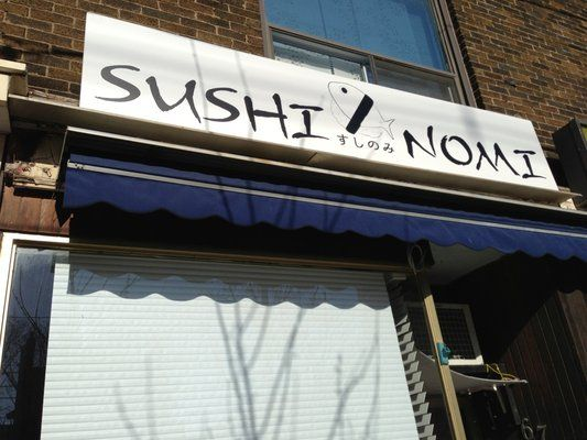 excellent, reasonably priced sushi