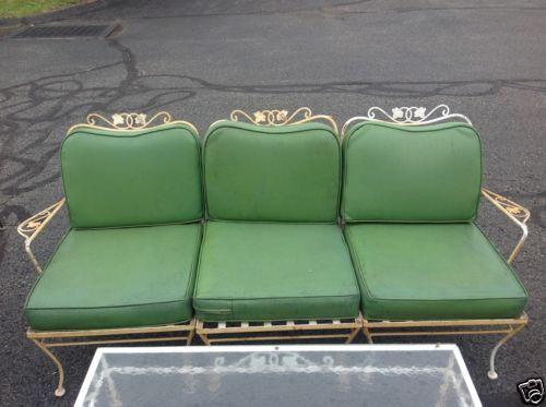 Best 25+ Iron Patio Furniture Ideas On Pinterest