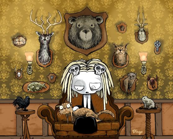 Lenore with Friends