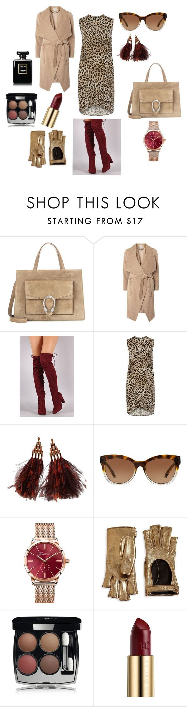 ТЕПЛАЯ ОСЕНЬ by natali26-72 on Polyvore featuring мода, Dorothy Perkins, Gucci, Louis Vuitton, Thomas Sabo, Michael Kors, Chanel and Urban Decay