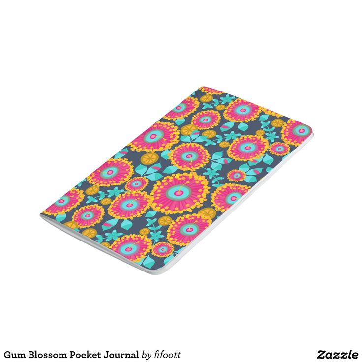 Gum Blossom Pocket Journal