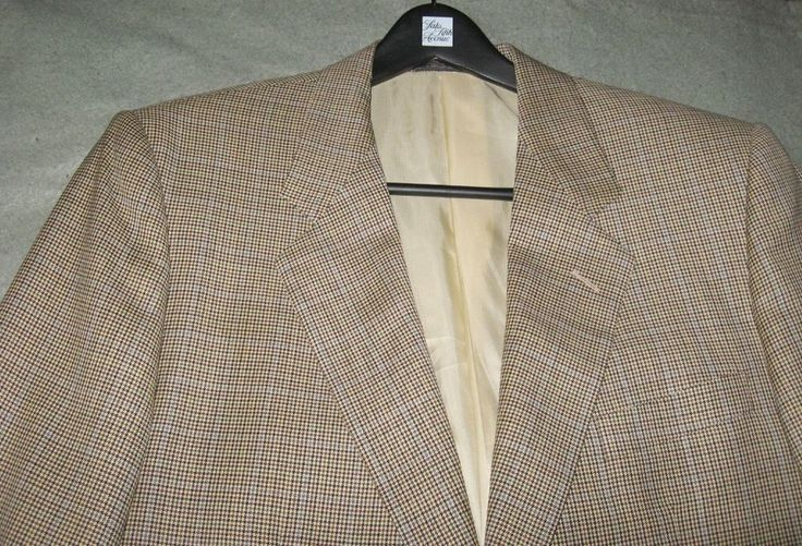 Corneliani Size 42L (EU 52) Houndstooth Plaid Blazer Sport Coat Jacket 2-Button | Clothing, Shoes & Accessories, Men's Clothing, Blazers & Sport Coats | eBay!