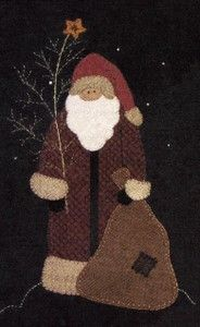 north woods santa by primitive gatherings