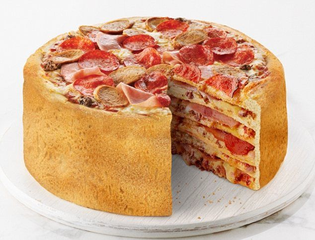Massive feat: Boston pizza's pizza cake offers miraculous layers of crust, meat toppings, ... http://dailym.ai/1r55FPT#i-60470d56