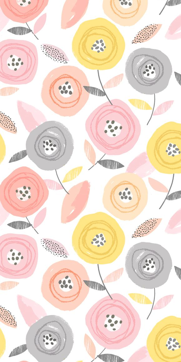 wendy kendall designs – freelance surface pattern designer » sunshine floral