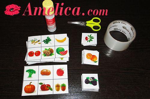 Игра про овощи, карточки овощи для детей, лото своими руками. Разнообразные игры для развития внимания и речи ознакомления ребенка с окружающим миром,