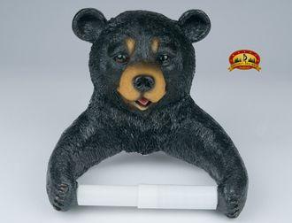 Southwestern Black Bear Toilet Paper Holder (t2)