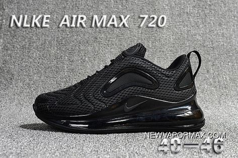 Nike Air Max 720 All Black New Year Deals | Nike air max in