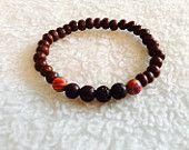 Toddler lava rock essential oil diffuser bracelet.