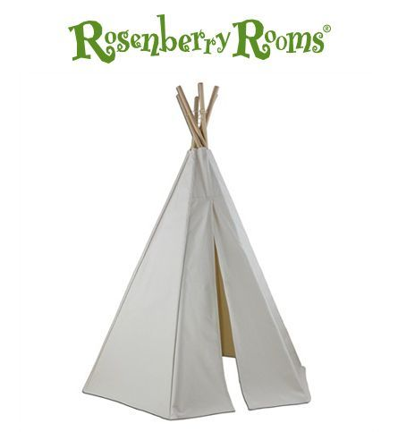 Kids who love playtime will love hiding and hanging out in this inviting kids teepee!
